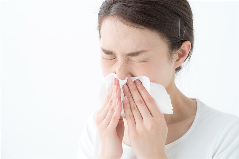 ちょっとした花粉症対策
